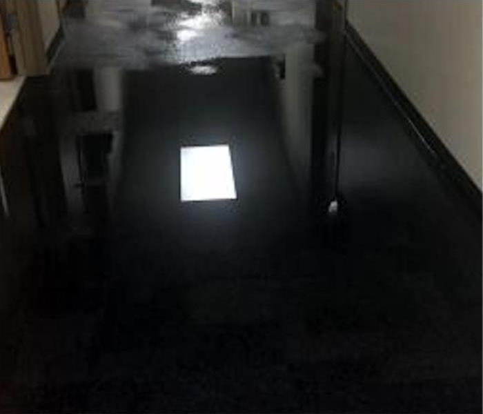 Commercial Water Damage Restoration In New Orleans Before