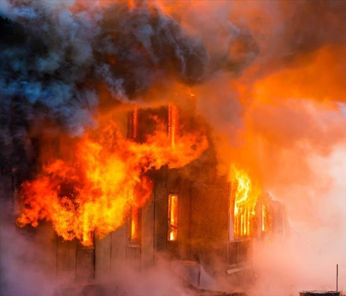 Fire Damage Let Our SERVPRO Team Simplify Fire Restoration to Your Kenner Residence