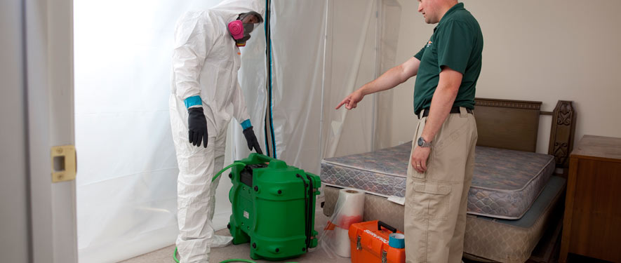 North Kenner, LA mold removal process